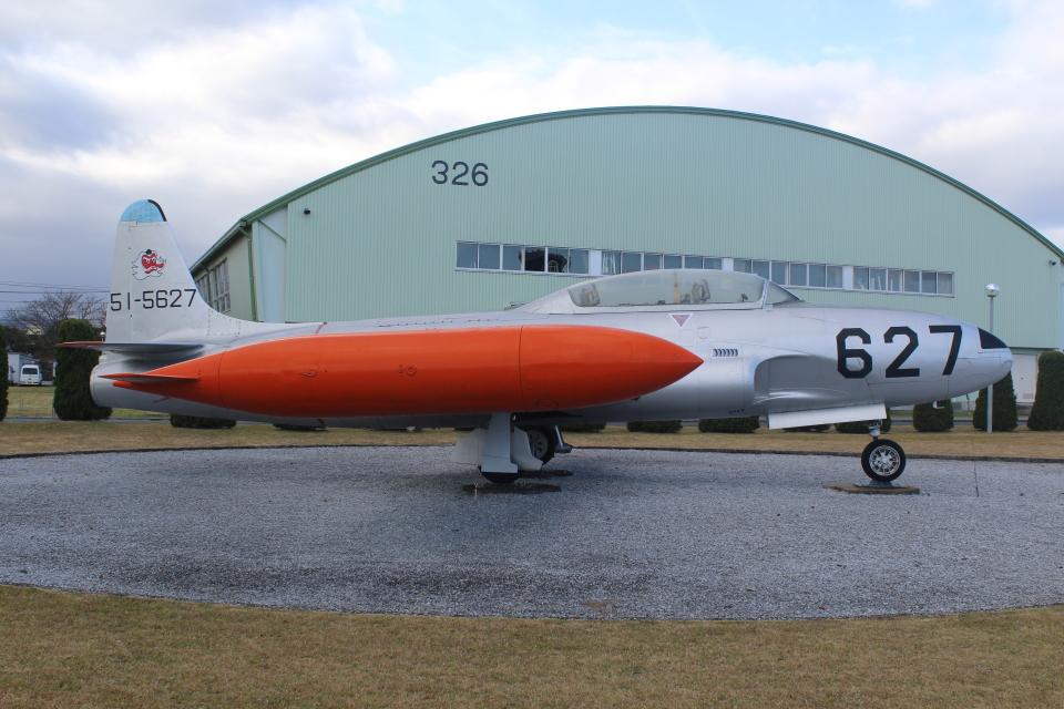 7915さんの航空自衛隊 Lockheed T-33 Shooting Star (51-5627) 航空フォト