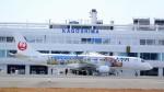 Koj-skadb2116さんが、鹿児島空港で撮影したジェイ・エア ERJ-190-100(ERJ-190STD)の航空フォト(写真)