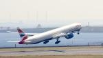 黒猫777さんが、羽田空港で撮影したブリティッシュ・エアウェイズ 777-36N/ERの航空フォト(写真)