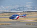 sp3混成軌道さんが、岡南飛行場で撮影した大分県防災航空隊 BK117C-2の航空フォト(写真)