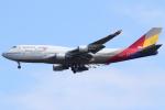 kinsanさんが、成田国際空港で撮影したアシアナ航空 747-48Eの航空フォト(写真)