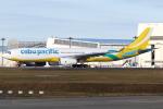 kinsanさんが、成田国際空港で撮影したセブパシフィック航空 A330-343Xの航空フォト(写真)