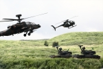小金井原住民さんが、東富士演習場で撮影した陸上自衛隊 AH-64Dの航空フォト(写真)