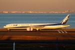 on-chanさんが、羽田空港で撮影した全日空 777-381/ERの航空フォト(写真)