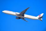 雲霧さんが、成田国際空港で撮影した中国東方航空 777-39P/ERの航空フォト(写真)