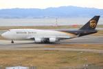 キイロイトリ1005fさんが、関西国際空港で撮影したUPS航空 747-45E(BDSF)の航空フォト(写真)