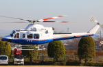 takaRJNSさんが、群馬ヘリポートで撮影したティー・エム・シー・インターナショナル 412EPの航空フォト(写真)