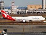 51ANさんが、羽田空港で撮影したカンタス航空 747-438/ERの航空フォト(写真)