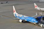 sukiさんが、中部国際空港で撮影した日本トランスオーシャン航空 737-8Q3の航空フォト(写真)
