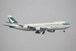 トールさんが、香港国際空港で撮影したキャセイパシフィック航空 747-867F/SCDの航空フォト(写真)