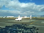 ダルビッシュえつしさんが、八尾空港で撮影した日本法人所有 R44 IIの航空フォト(写真)