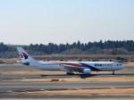 よんすけさんが、成田国際空港で撮影したマレーシア航空 A330-323Xの航空フォト(写真)
