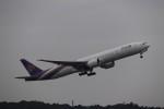 SUIKENさんが、成田国際空港で撮影したタイ国際航空 777-3D7/ERの航空フォト(写真)