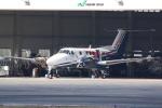 HEATHROWさんが、八尾空港で撮影した川崎重工業 B200 Super King Airの航空フォト(写真)