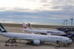 m_aereo_iさんが、中部国際空港で撮影したキャセイパシフィック航空 777-367の航空フォト(写真)