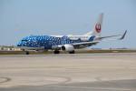 utarou on NRTさんが、那覇空港で撮影した日本トランスオーシャン航空 737-8Q3の航空フォト(写真)