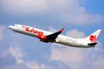 まいけるさんが、クラビー空港で撮影したタイ・ライオン・エア 737-9GP/ERの航空フォト(写真)