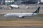 神宮寺ももさんが、羽田空港で撮影したサウジアラビア財務省 737-9FG/ER BBJ3の航空フォト(写真)