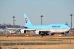 LEGACY-747さんが、成田国際空港で撮影した大韓航空 747-8B5の航空フォト(飛行機 写真・画像)