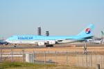 LEGACY-747さんが、成田国際空港で撮影した大韓航空 747-8B5の航空フォト(写真)