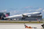チャッピー・シミズさんが、那覇空港で撮影したチャイナエアライン 777-309/ERの航空フォト(写真)