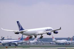 senyoさんが、成田国際空港で撮影したサベナ・ベルギー航空 A340-311の航空フォト(飛行機 写真・画像)