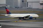 ハピネスさんが、羽田空港で撮影したデルタ航空 777-232/ERの航空フォト(飛行機 写真・画像)