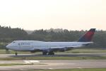 OS52さんが、成田国際空港で撮影したデルタ航空 747-451の航空フォト(写真)