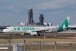 staralliance☆JA712Aさんが、成田国際空港で撮影したエアソウル A321-231の航空フォト(写真)