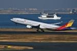 DVDさんが、羽田空港で撮影したアシアナ航空 A330-323Xの航空フォト(写真)