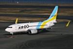 DVDさんが、羽田空港で撮影したAIR DO 737-781の航空フォト(写真)