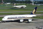 JA753Aさんが、シンガポール・チャンギ国際空港で撮影したシンガポール航空 A380-841の航空フォト(写真)