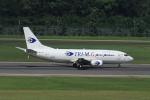 JA753Aさんが、シンガポール・チャンギ国際空港で撮影したトライエムジー イントラ アジア エアラインズ 737-36N(SF)の航空フォト(写真)