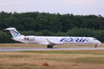 安芸あすかさんが、フランクフルト国際空港で撮影したアドリア航空 CL-600-2D24 Regional Jet CRJ-900LRの航空フォト(写真)
