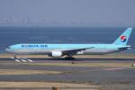 神宮寺ももさんが、羽田空港で撮影した大韓航空 777-3B5の航空フォト(写真)