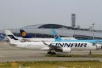 ハピネスさんが、関西国際空港で撮影したフィンエアー A350-941XWBの航空フォト(写真)