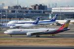 prado120さんが、羽田空港で撮影したアシアナ航空 A330-323Xの航空フォト(写真)