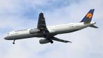 誘喜さんが、フランクフルト国際空港で撮影したルフトハンザドイツ航空 A321-231の航空フォト(写真)