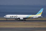 神宮寺ももさんが、羽田空港で撮影したAIR DO 767-33A/ERの航空フォト(写真)