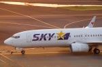 SOMAさんが、羽田空港で撮影したスカイマーク 737-8FHの航空フォト(写真)