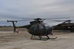 ワイエスさんが、新田原基地で撮影した陸上自衛隊 OH-6Dの航空フォト(写真)