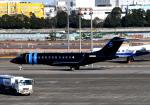 チャーリーマイクさんが、羽田空港で撮影したウィルミントン・トラスト・カンパニー BD-700 Global Express/5000/6000の航空フォト(写真)