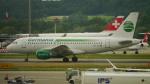 lufthansa9919さんが、チューリッヒ空港で撮影したジャーマニア・フルーク A319-112の航空フォト(写真)