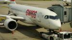 lufthansa9919さんが、チューリッヒ空港で撮影したスイス航空 BD-500-1A10 CSeries CS100の航空フォト(写真)