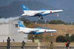 こびとさんさんが、新田原基地で撮影した航空自衛隊 T-4の航空フォト(写真)
