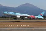 ゆういちさんが、鹿児島空港で撮影した大韓航空 777-3B5/ERの航空フォト(写真)