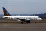 トシさんさんが、シアトル タコマ国際空港で撮影したフロンティア航空 A318-111の航空フォト(写真)