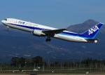 suke55さんが、鹿児島空港で撮影した全日空 767-381の航空フォト(写真)