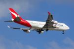 Jinxさんが、ブリスベン空港で撮影したカンタス航空 747-438/ERの航空フォト(写真)