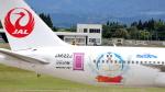 誘喜さんが、鹿児島空港で撮影した日本航空 767-346/ERの航空フォト(写真)